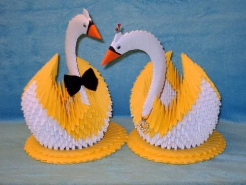 Лебеди своими руками ютуб