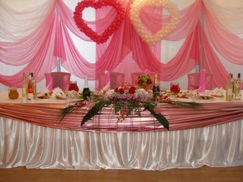 Як оформити весільний зал