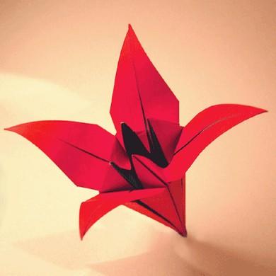 Як зробити лілії з паперу