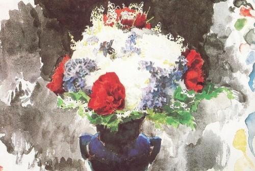 Як малювати маслом квіти