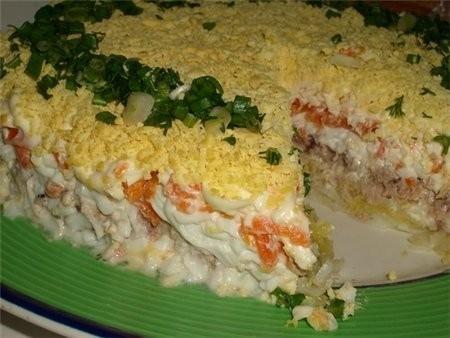 креветками с фото салати з