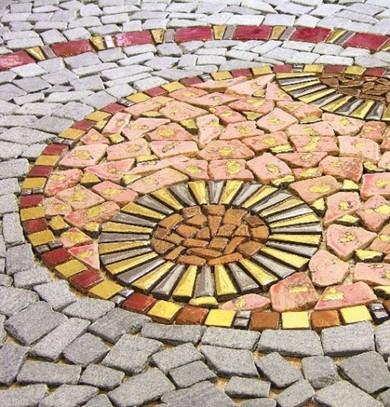 Как сделать самой мозаику из плитки