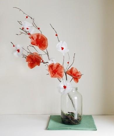 Як зробити декоративні квіти