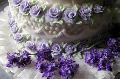 Як зробити трояндочки для торта