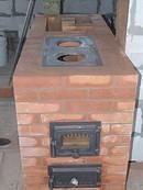 Уличная варочная печь из кирпича своими руками 78