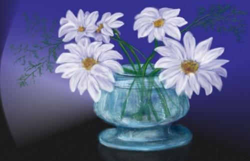Як намалювати квіти гуашевими фарбами