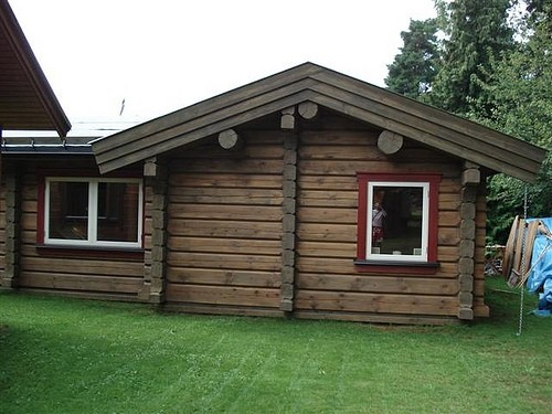 Як побудувати будинок з бруса
