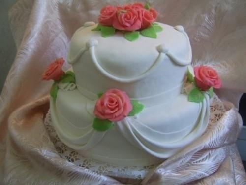 як прикрасити торт кремом фото