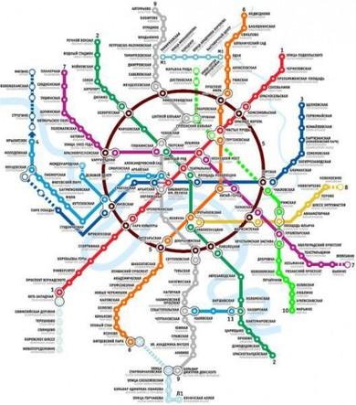 в московському метро