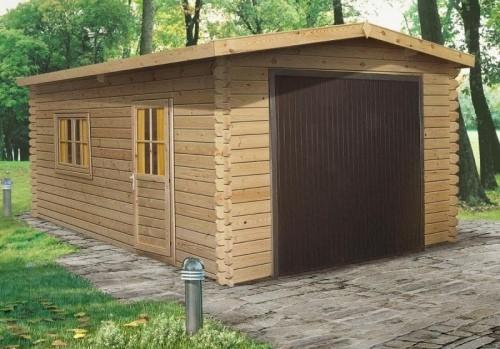 Як побудувати гараж з дерева