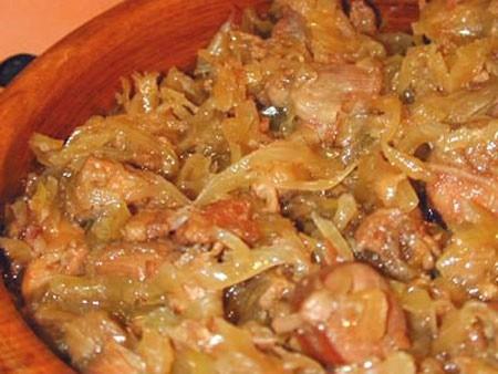 Солянка из свежей и квашеной капусты рецепт