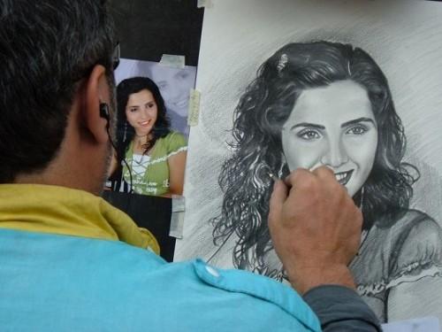 Як написати портрет