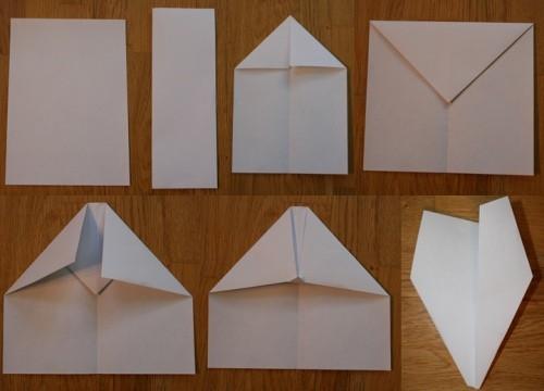 Бумажные самолётики своими руками 23