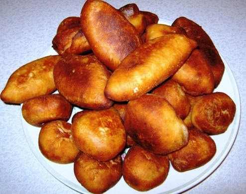 Пирожки в масле рецепт с фото